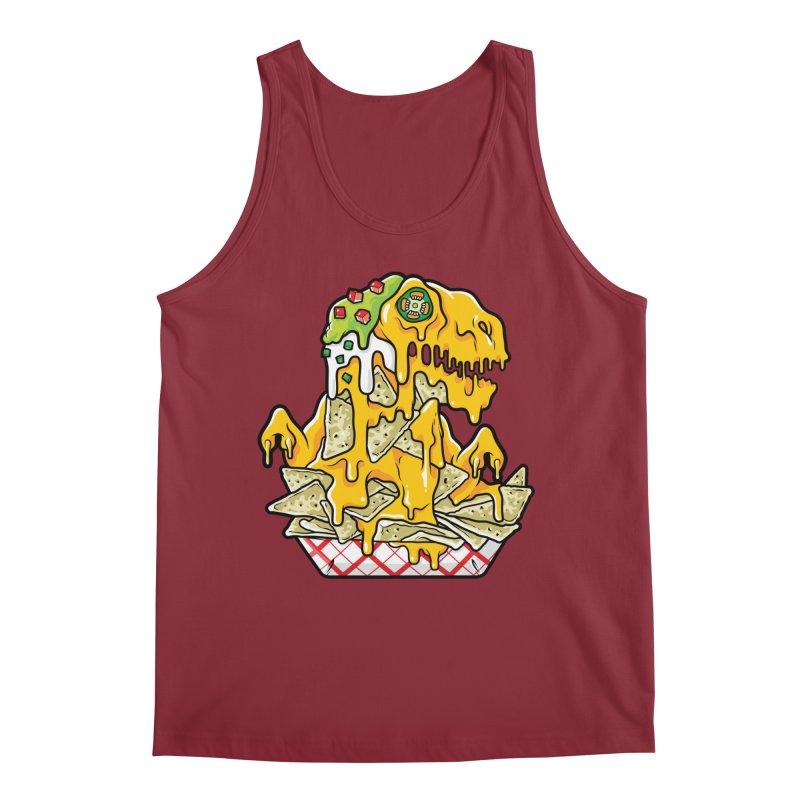 Feast Beasts - Nachosaurus Men's Tank by Anthony Petrie Print + Product Design