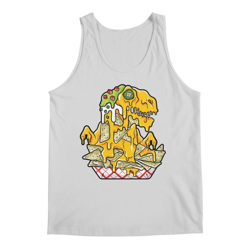 Nachosaurus Men's Regular Tank by Anthony Petrie Print + Product Design