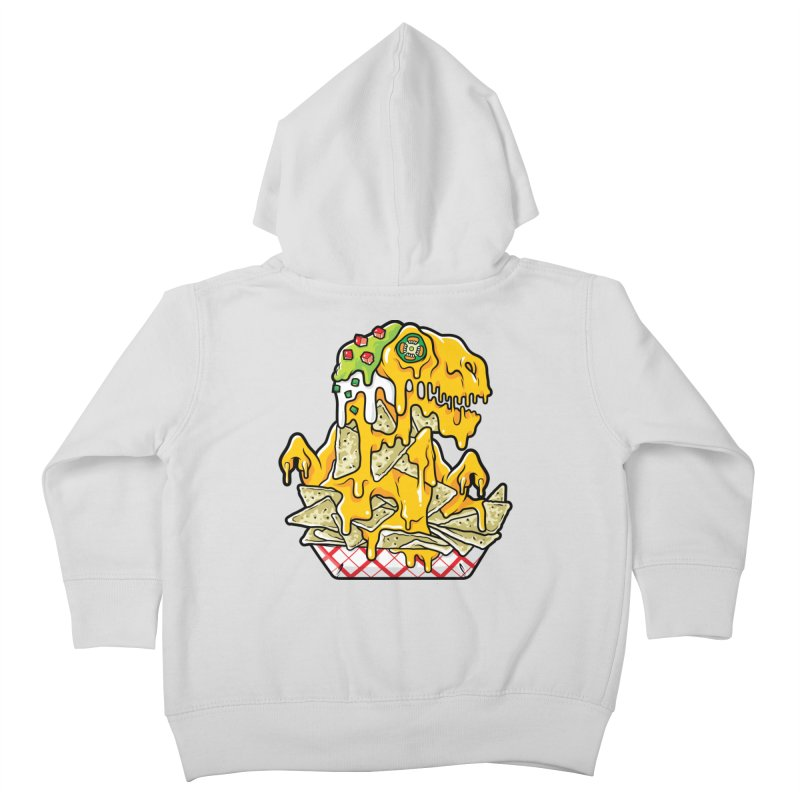 Nachosaurus Kids Toddler Zip-Up Hoody by Anthony Petrie Print + Product Design