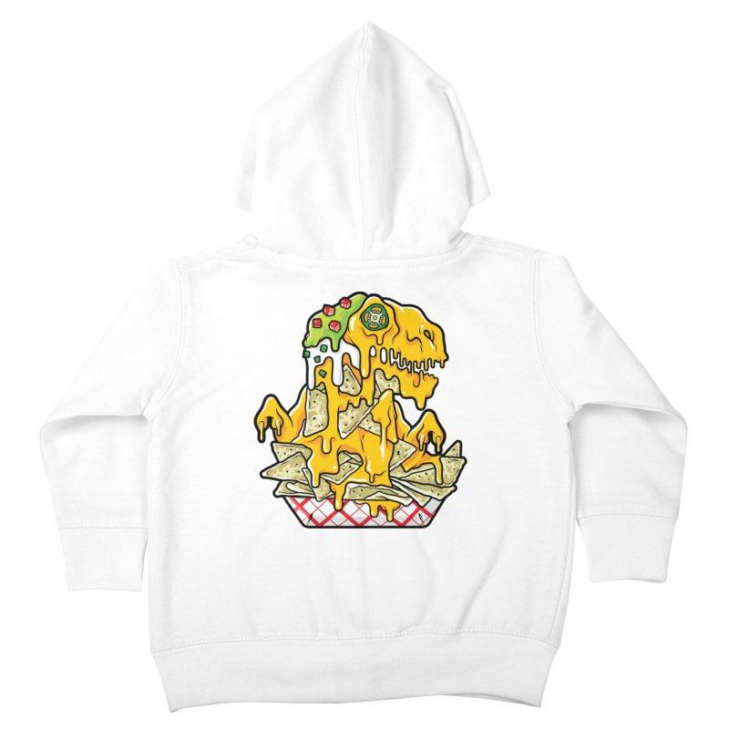 Nachosaurus Kids Toddler Zip-Up Hoody by Anthony Petrie Print + Product Design