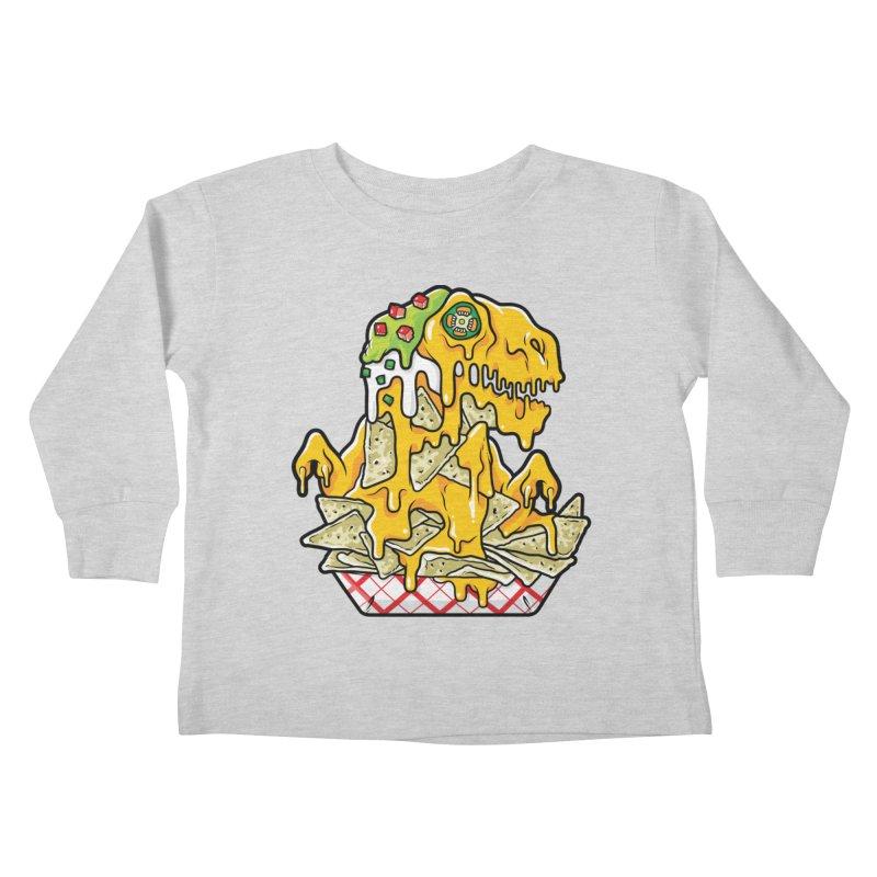 Nachosaurus Kids Toddler Longsleeve T-Shirt by Anthony Petrie Print + Product Design