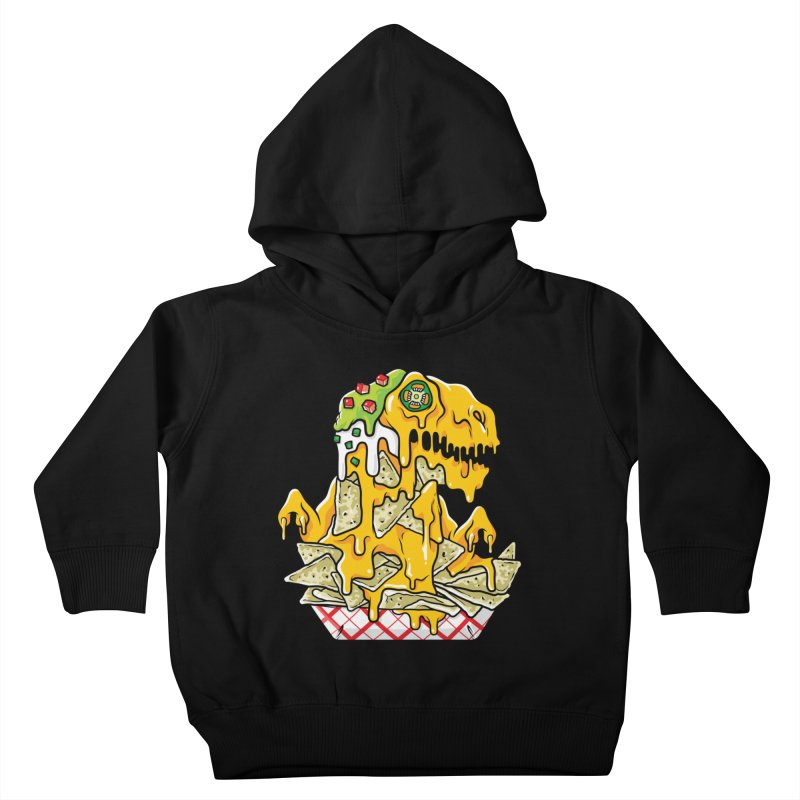 Nachosaurus Kids Toddler Pullover Hoody by Anthony Petrie Print + Product Design