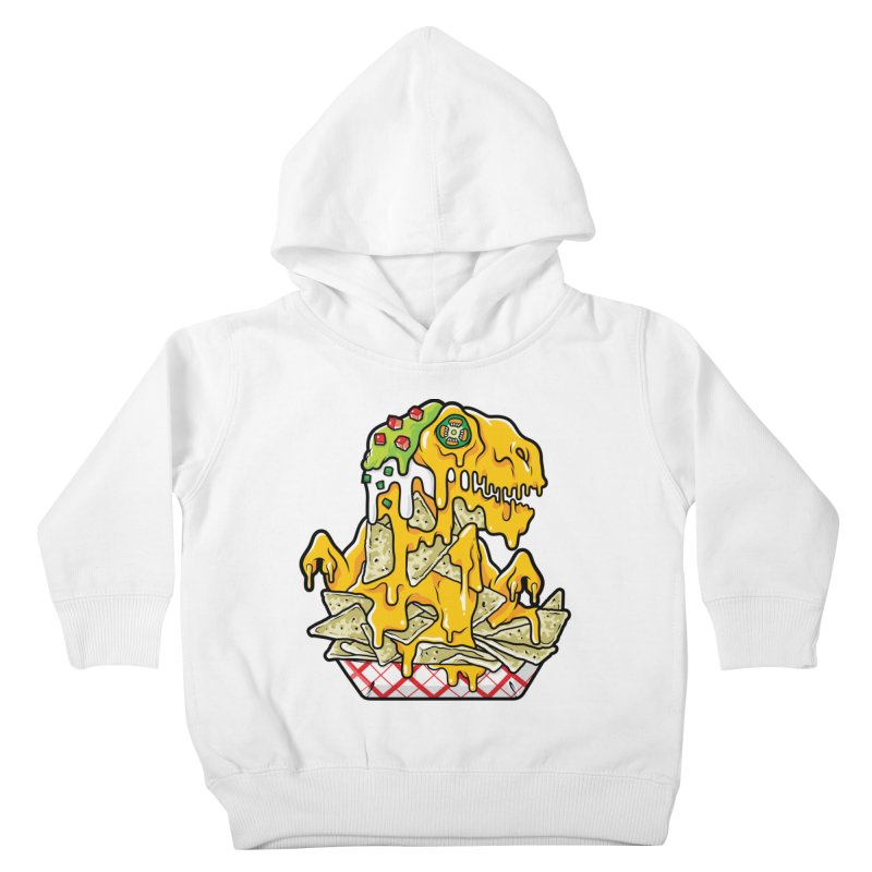 Nachosaurus Kids Toddler Pullover Hoody by Anthony Petrie