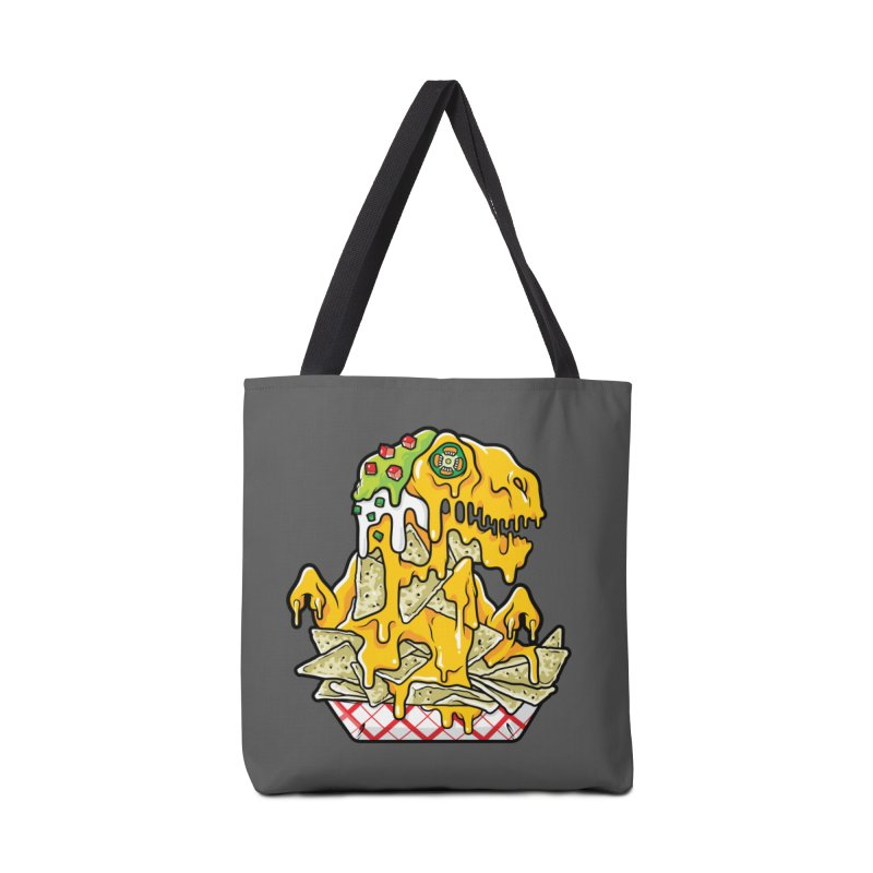 Nachosaurus Accessories Bag by Anthony Petrie Print + Product Design