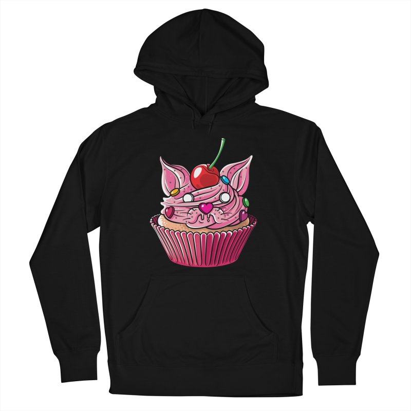 Cupcat Men's Pullover Hoody by Anthony Petrie Print + Product Design