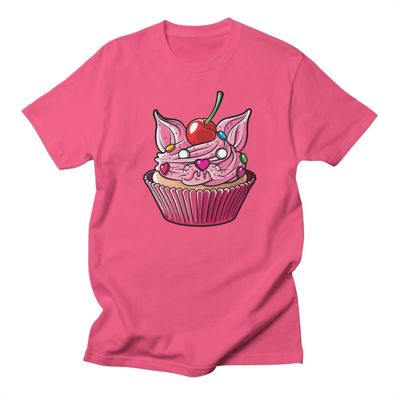 Cupcat Men's T-Shirt by Anthony Petrie Print + Product Design