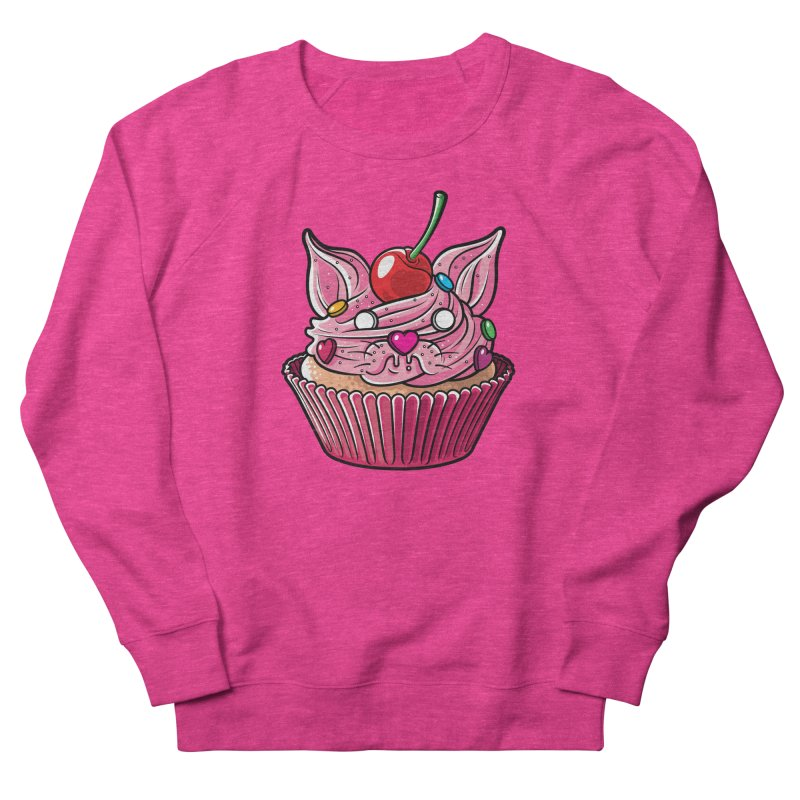Cupcat Men's Sweatshirt by Anthony Petrie Print + Product Design