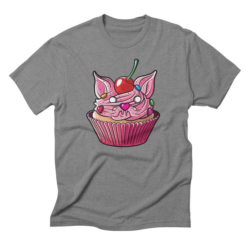 Cupcat Men's Triblend T-Shirt by Anthony Petrie Print + Product Design