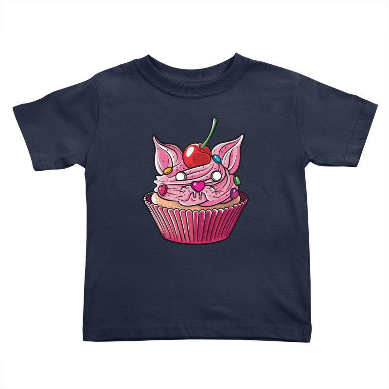 Cupcat Kids Toddler T-Shirt by Anthony Petrie Print + Product Design