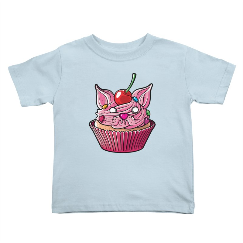 Cupcat Kids Toddler T-Shirt by Anthony Petrie