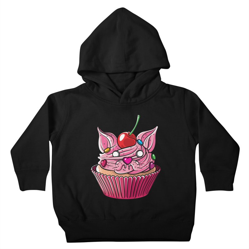 Cupcat Kids Toddler Pullover Hoody by Anthony Petrie