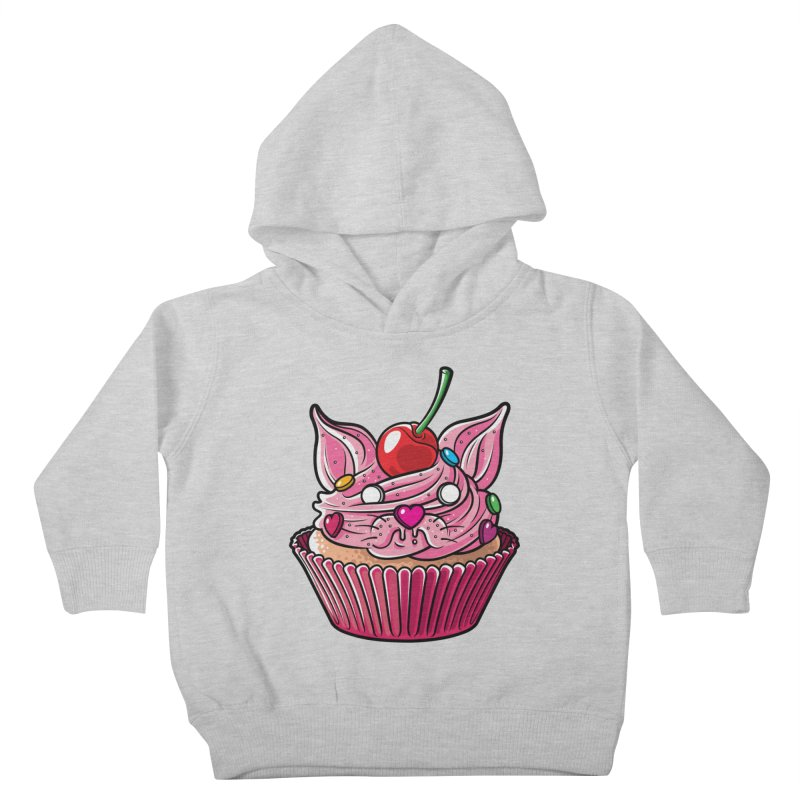 Cupcat Kids Toddler Pullover Hoody by Anthony Petrie Print + Product Design