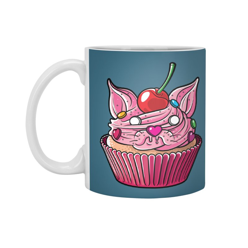 Cupcat Accessories Mug by Anthony Petrie Print + Product Design
