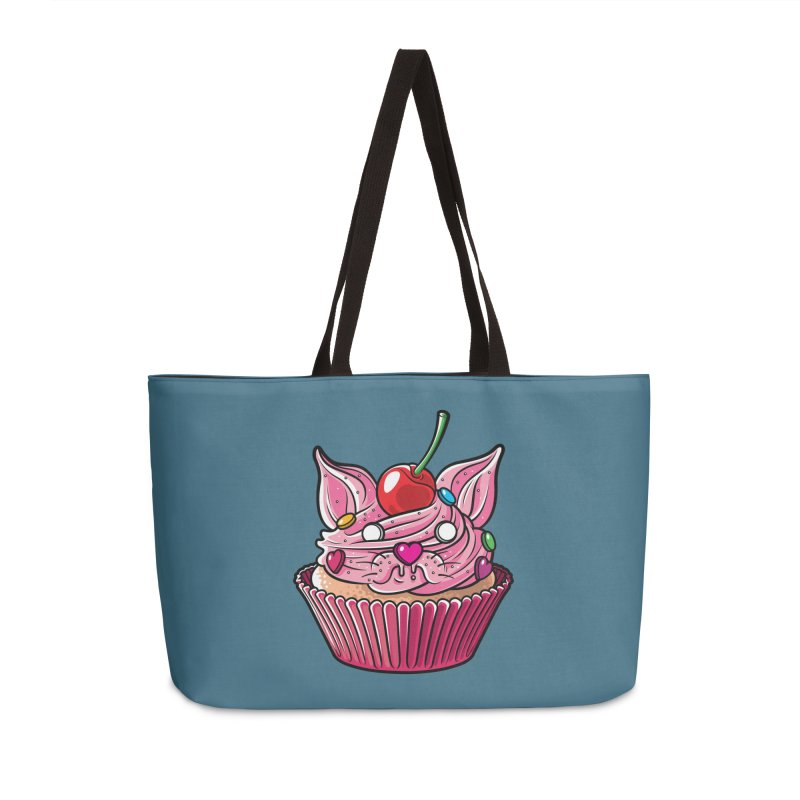 Cupcat Accessories Weekender Bag Bag by Anthony Petrie Print + Product Design