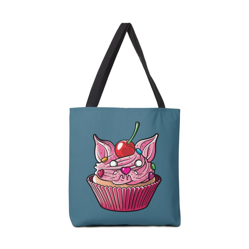 Cupcat Accessories Bag by Anthony Petrie