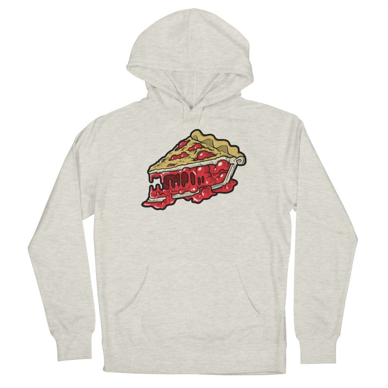 Feast Beasts - Cherry Croco-Pie-L Men's Pullover Hoody by Anthony Petrie Print + Product Design