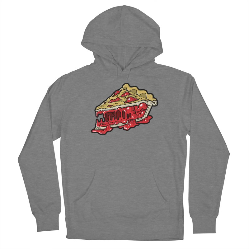 Feast Beasts - Cherry Croco-Pie-L Women's Pullover Hoody by Anthony Petrie Print + Product Design