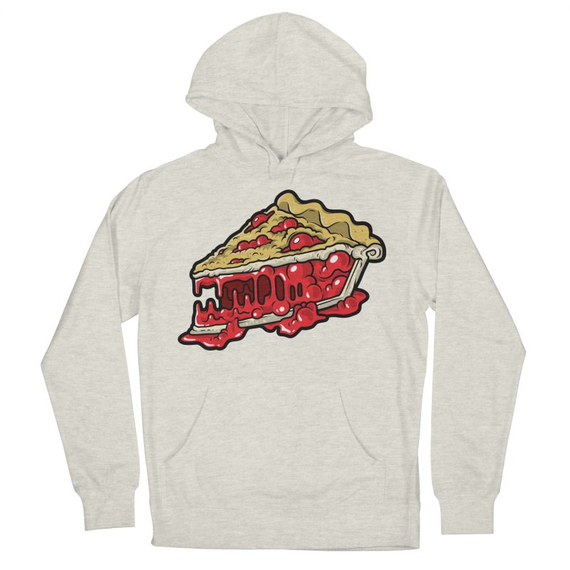 Cherry Croco-Pie-L Women's Pullover Hoody by Anthony Petrie Print + Product Design