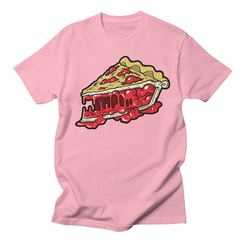 Cherry Croco-Pie-L Men's T-Shirt by Anthony Petrie Print + Product Design