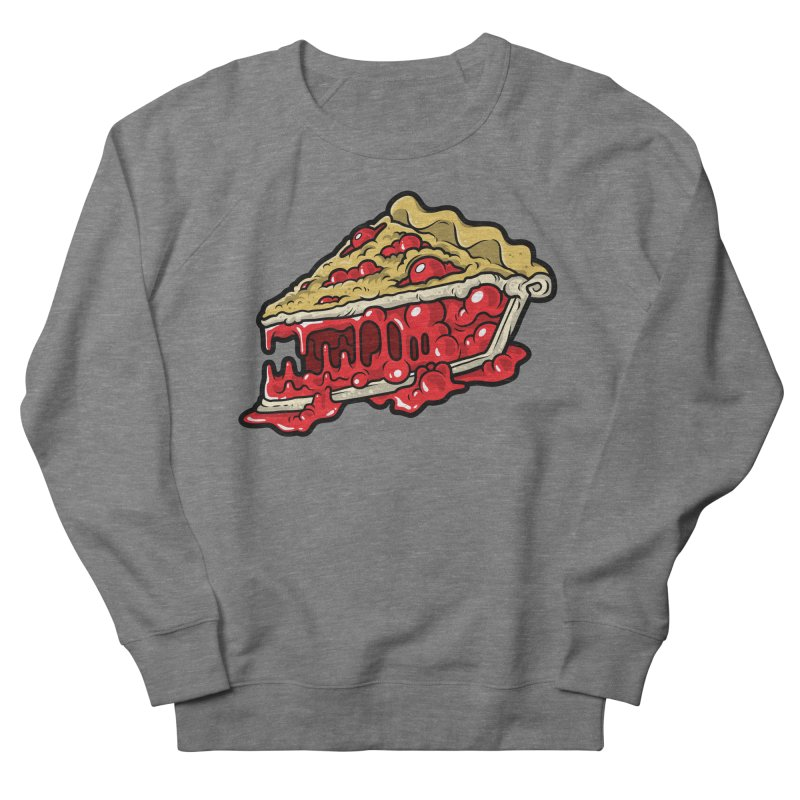 Cherry Croco-Pie-L Men's French Terry Sweatshirt by Anthony Petrie Print + Product Design