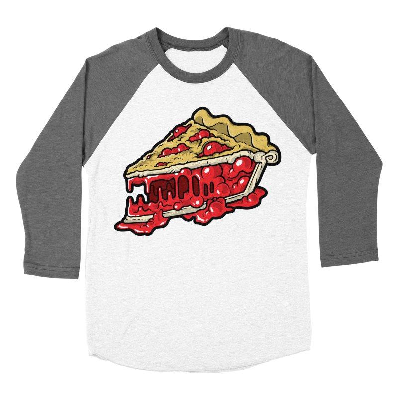 Cherry Croco-Pie-L Women's Baseball Triblend T-Shirt by Anthony Petrie