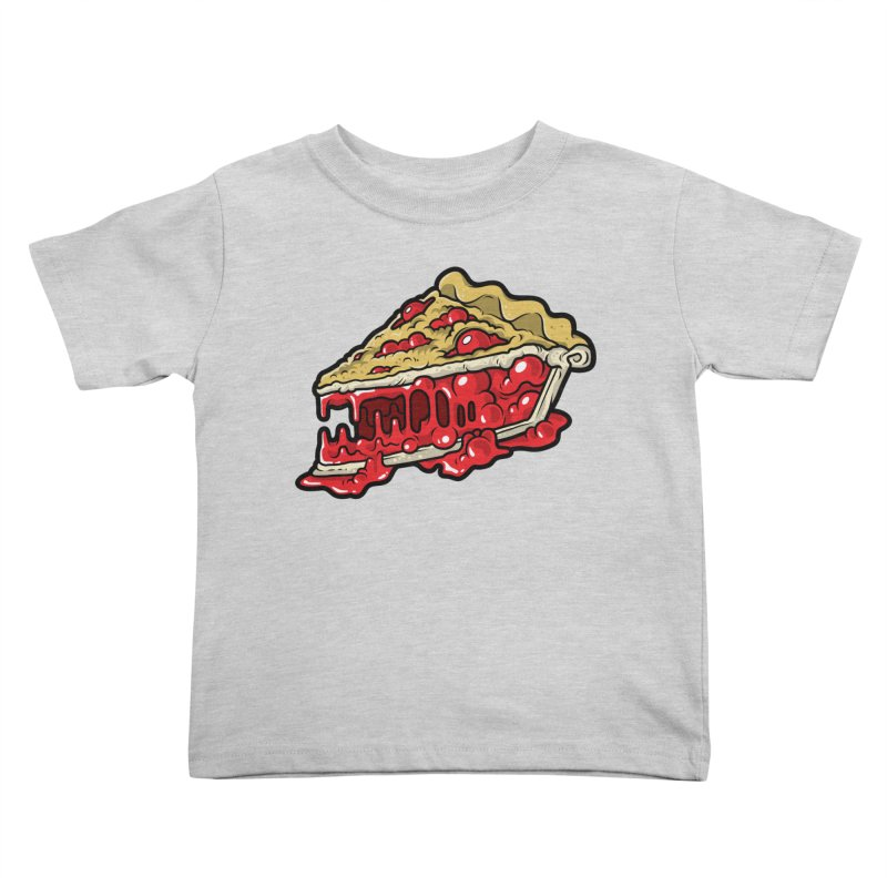 Cherry Croco-Pie-L Kids Toddler T-Shirt by Anthony Petrie