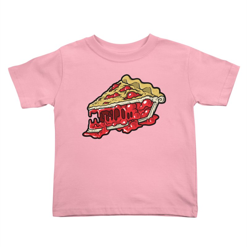 Cherry Croco-Pie-L Kids Toddler T-Shirt by Anthony Petrie Print + Product Design