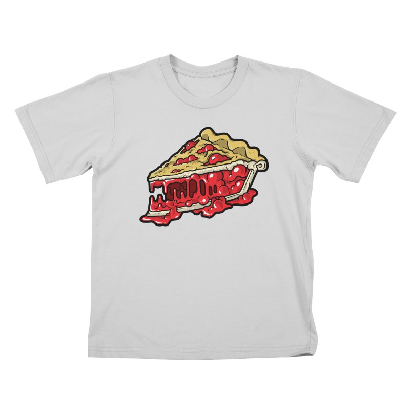 Cherry Croco-Pie-L Kids T-Shirt by Anthony Petrie Print + Product Design