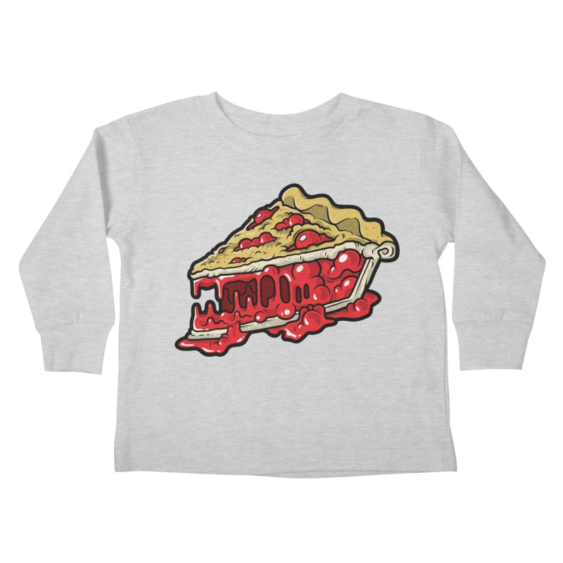 Cherry Croco-Pie-L Kids Toddler Longsleeve T-Shirt by Anthony Petrie