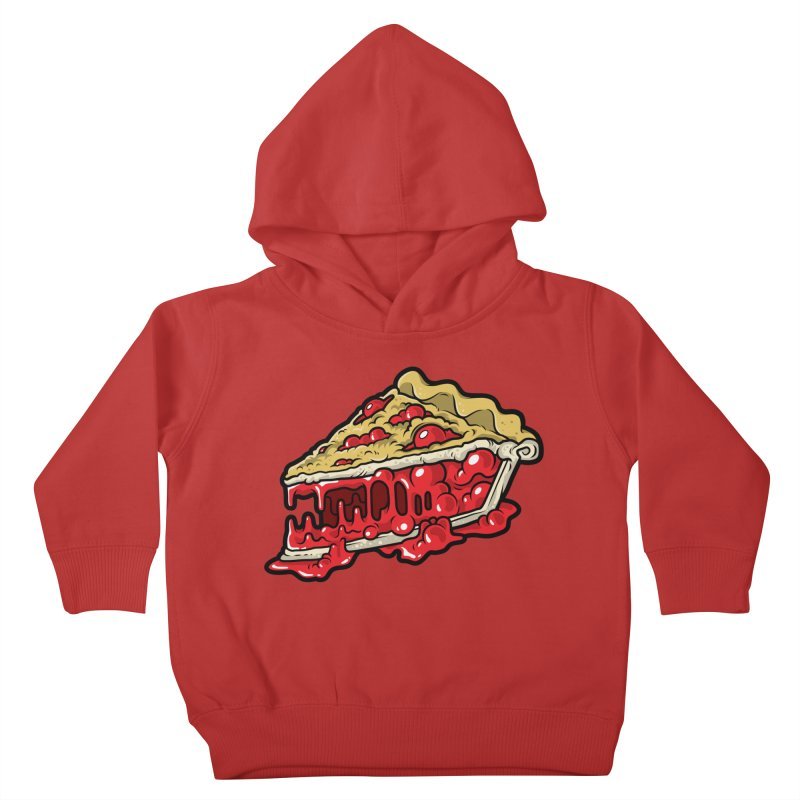 Cherry Croco-Pie-L Kids Toddler Pullover Hoody by Anthony Petrie Print + Product Design