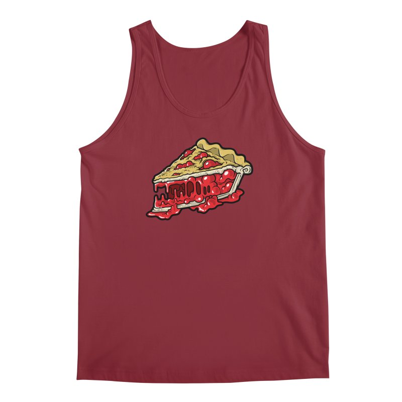 Cherry Croco-Pie-L Men's Tank by Anthony Petrie Print + Product Design