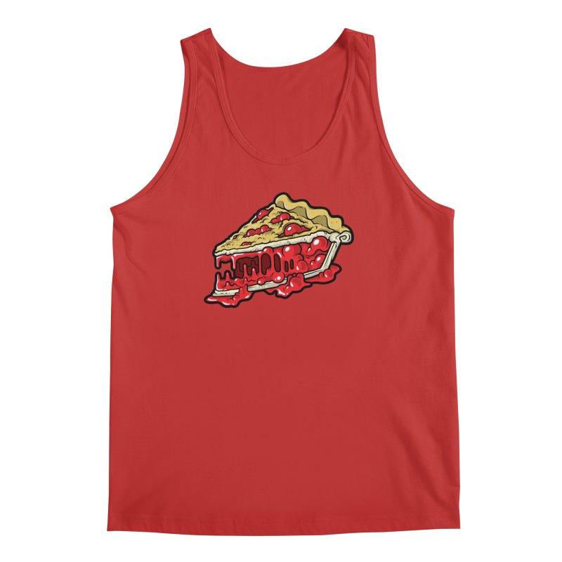Cherry Croco-Pie-L Men's Tank by Anthony Petrie Print + Product Design