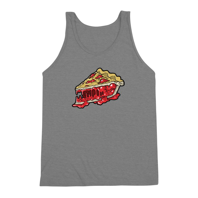 Cherry Croco-Pie-L Men's Triblend Tank by Anthony Petrie