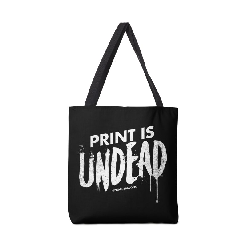 PRINT IS UNDEAD Accessories Bag by Anthony Petrie Print + Product Design