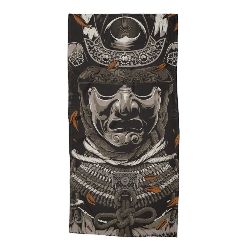 A Warrior's Dreams Part I: Armor Accessories Beach Towel by Anthony Petrie Print + Product Design