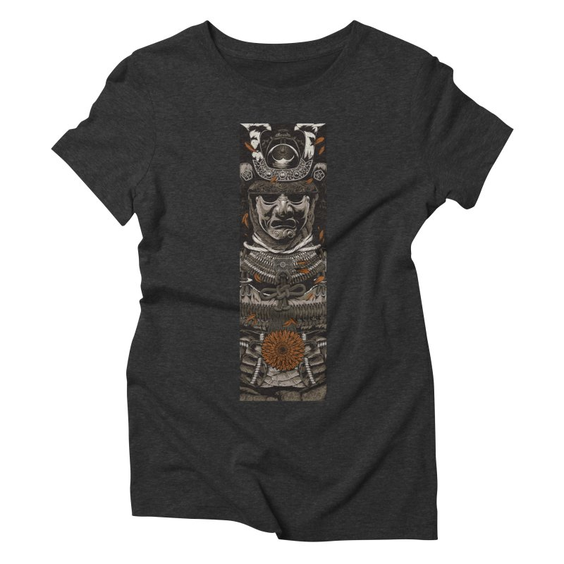 A Warrior's Dreams Part I: Armor Women's Triblend T-Shirt by Anthony Petrie Print + Product Design
