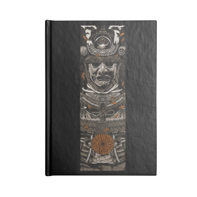 A Warrior's Dreams Part I: Armor Accessories Lined Journal Notebook by Anthony Petrie Print + Product Design