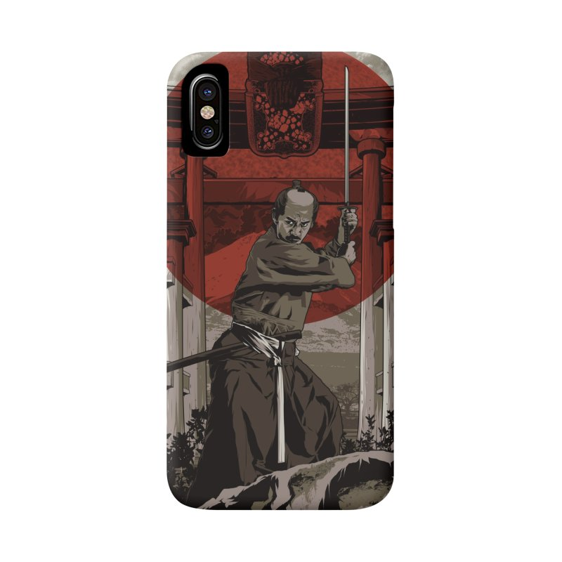 A Warrior's Dream Part II: Samurai Accessories Phone Case by Anthony Petrie Print + Product Design
