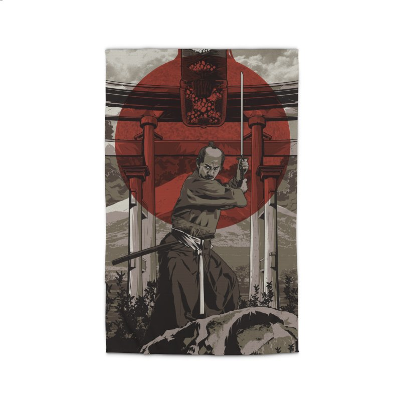 A Warrior's Dream Part II: Samurai Home Rug by Anthony Petrie Print + Product Design