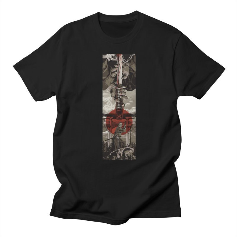 A Warrior's Dream Part II: Samurai Men's Regular T-Shirt by Anthony Petrie Print + Product Design