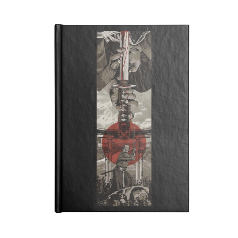 A Warrior's Dream Part II: Samurai Accessories Lined Journal Notebook by Anthony Petrie Print + Product Design