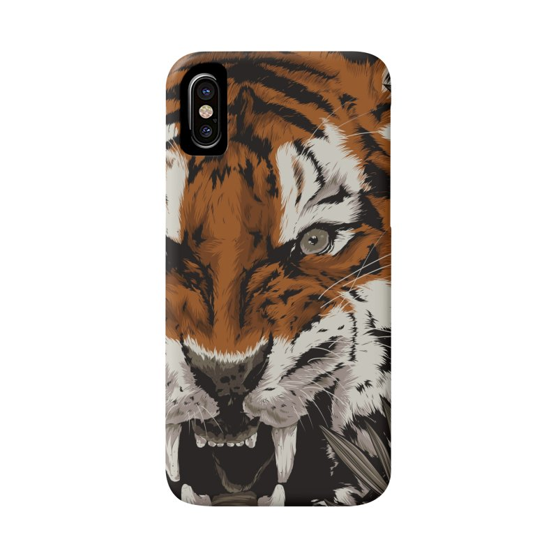 A Warrior's Dreams Part III: Tiger Accessories Phone Case by Anthony Petrie Print + Product Design