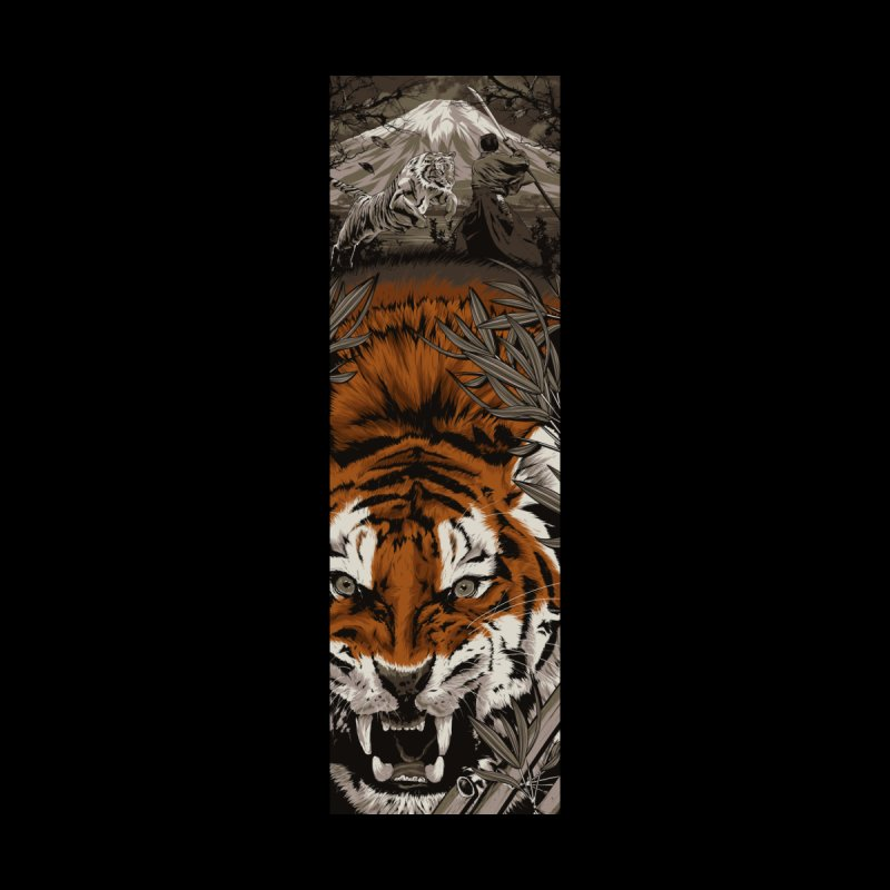 A Warrior's Dreams Part III: Tiger by Anthony Petrie Print + Product Design