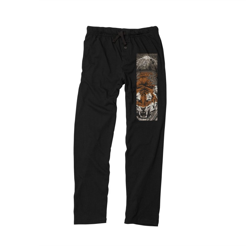 A Warrior's Dreams Part III: Tiger Men's Lounge Pants by Anthony Petrie Print + Product Design