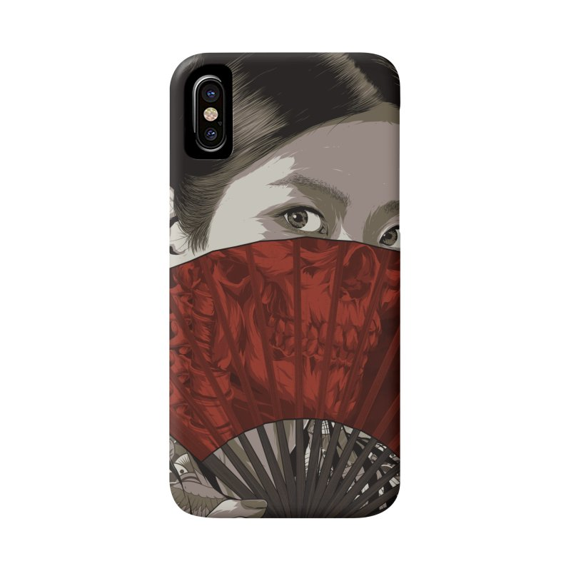 A Warrior's Dreams Part IV: Geisha Accessories Phone Case by Anthony Petrie Print + Product Design