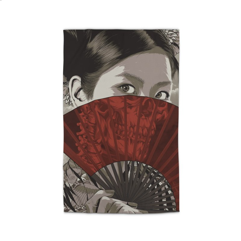 A Warrior's Dreams Part IV: Geisha Home Rug by Anthony Petrie Print + Product Design