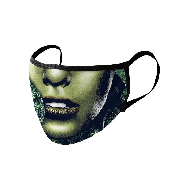 Medusa Accessories Face Mask by Anthony Petrie Print + Product Design