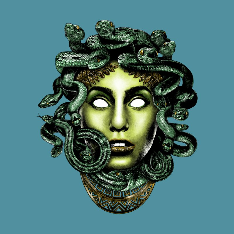Medusa Men's T-Shirt by Anthony Petrie Print + Product Design