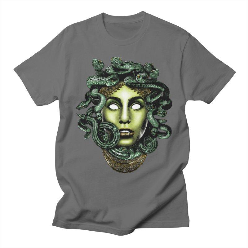 Medusa Men's T-Shirt by Anthony Petrie Print + Product Design