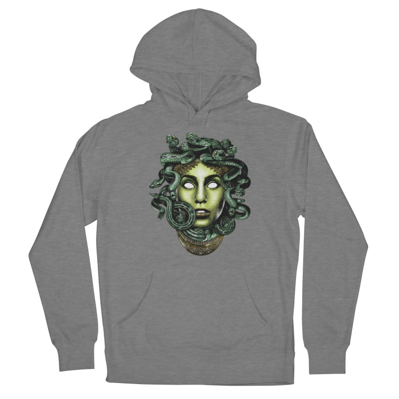 Medusa Women's Pullover Hoody by Anthony Petrie Print + Product Design